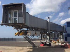 2400 Power Coils and 3400 PCA at Kotoka Int'l Airport, Ghana