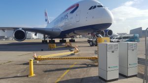 AXA 2400 GPUs at London Heathrow Airport