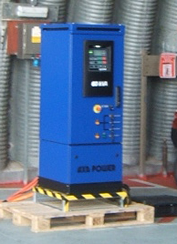 Photo of AXA 2300 Ground Power Unit in Hardened aircraft shelter