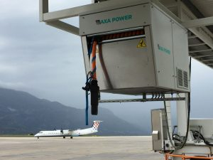 AXA 2400 Power Coil in Dubrovnik Airport