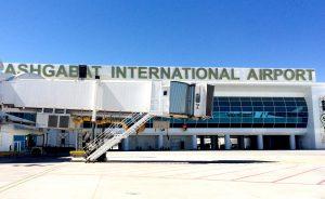 AXA Power Coil and PCA at Ashagabat Airport, Turkmenistan