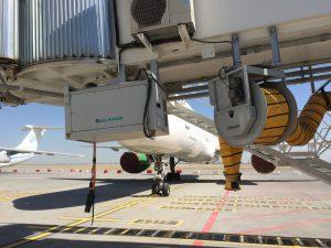 AXA 2300 Power Coil at Ashgabat Airport, Turkmenistan