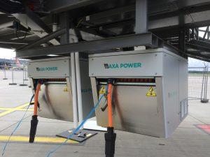 AXA 2400 Power Coils in Riga Airport, Latvia
