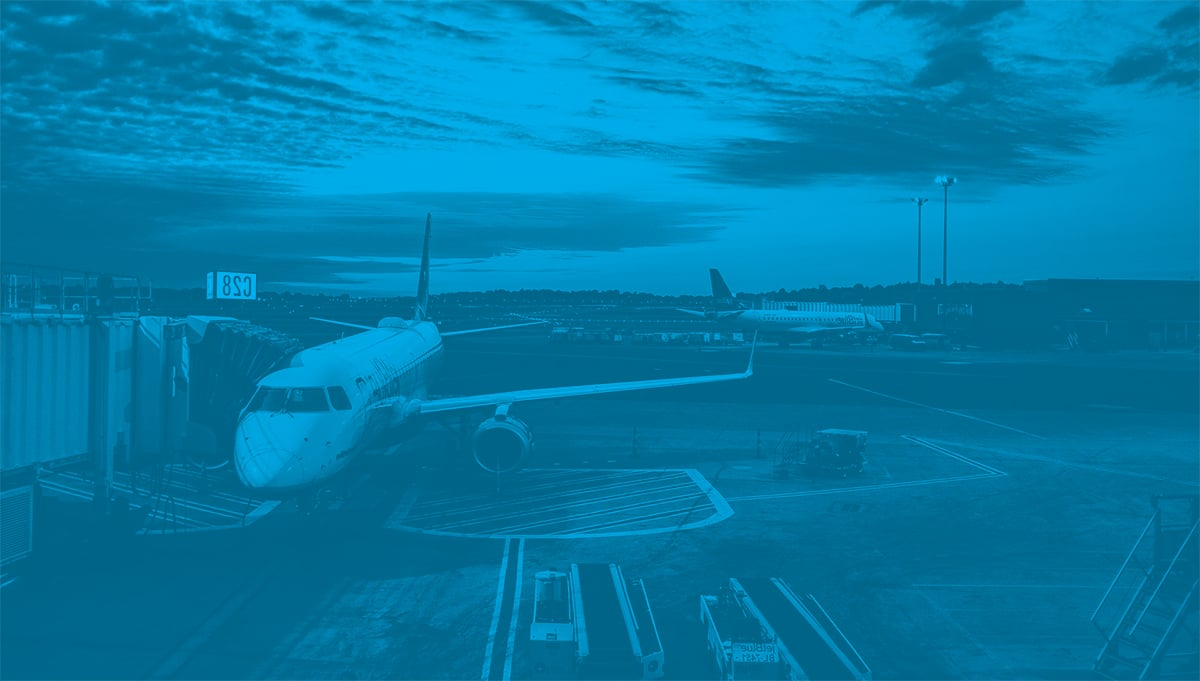 airplane blue overlay
