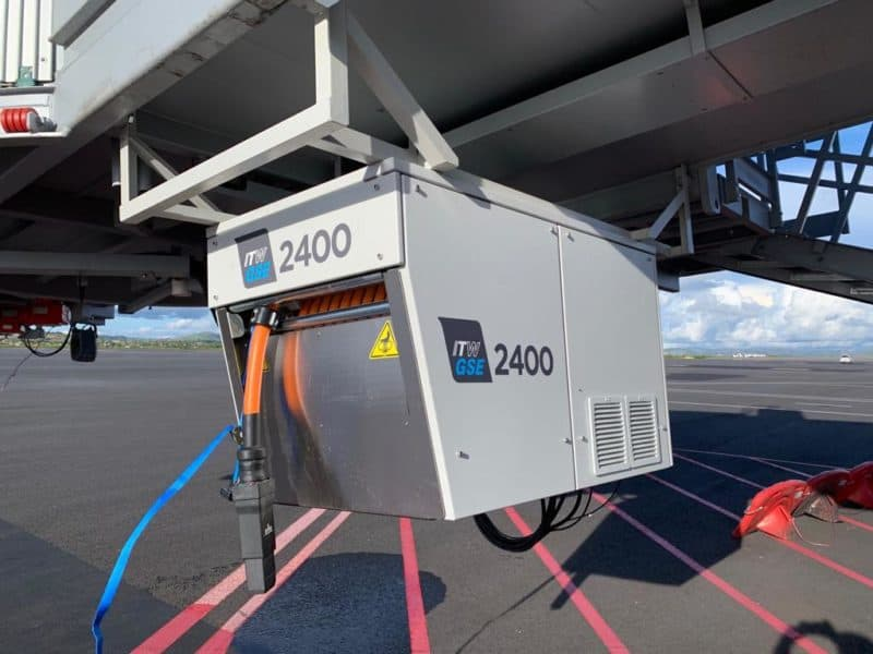 ITW GSE 2400 Power Coil, Ivato International Airport, Madagacar, Africa