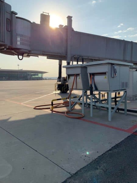 ITW GSE 2400 Power Coil, Beijing Capital Airport, China