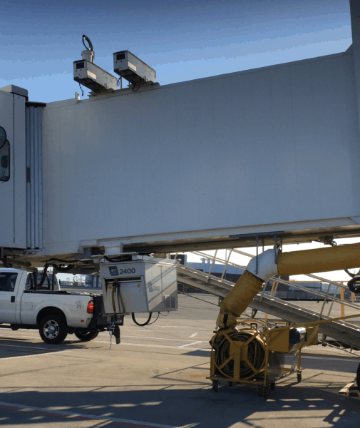 ITW GSE 2400 Power Coil in Boston Logan Intl. Airport, US