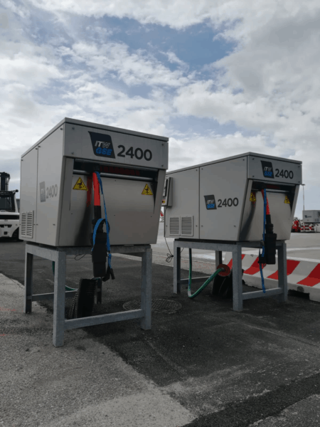 ITW GSE 2400 Power Coil, Venice Airport, Italy
