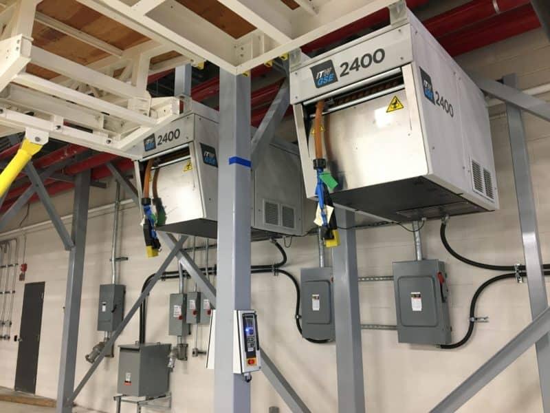 ITWGSE 2400 Power Coil, Air Canada Hangar 5, Toronto Pearson Airport, Canada