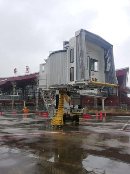 ITW GSE 2400 Power Coil, Lincang Airport, China