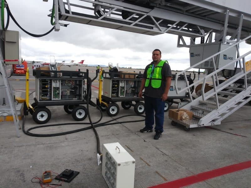 Mexico, ITW GSE 2400 mobile gGPU and ITW GSE 2400 Power Coil