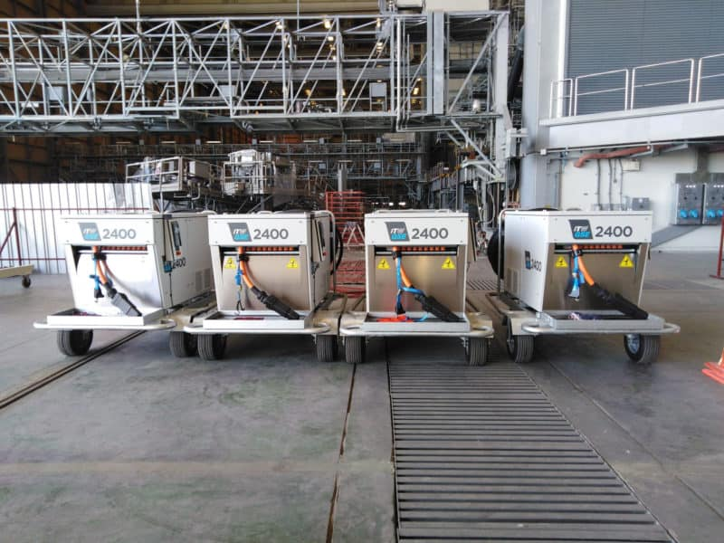 ITW GSE 2400 Ground Mounted Power Coil, U-Tapao International Airport