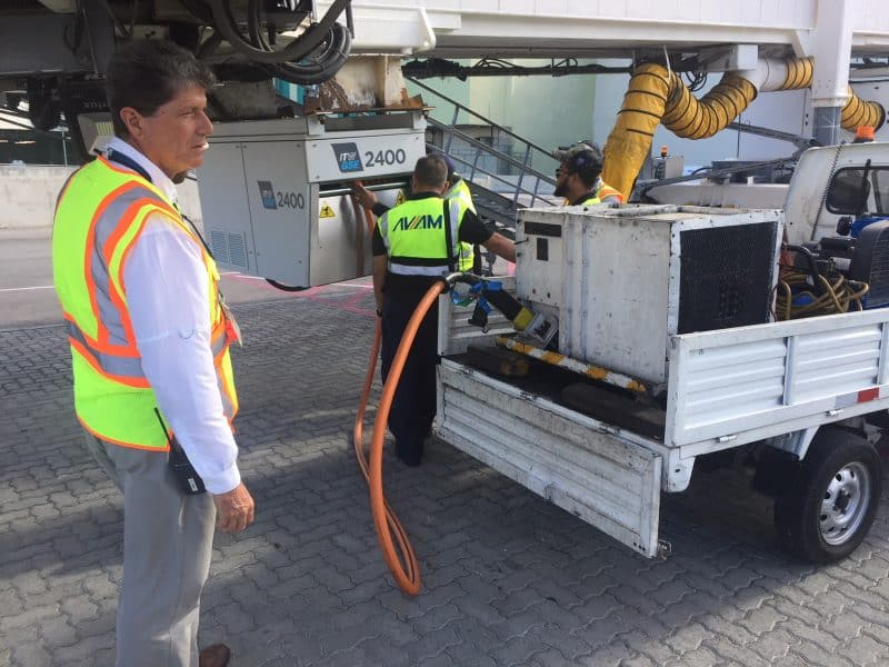 ITW GSE 2400 Power Coil, Punta Cana Airport, Dominican Republic