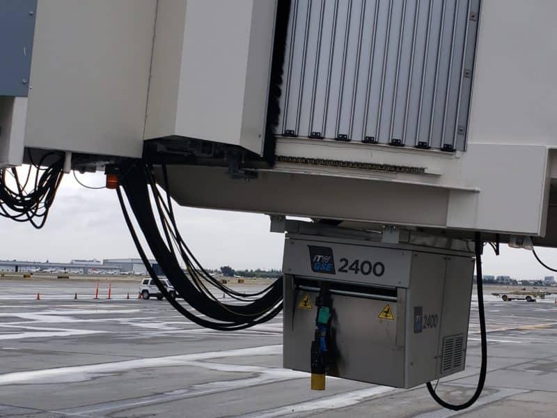 San Jose International Airport, Power Coil