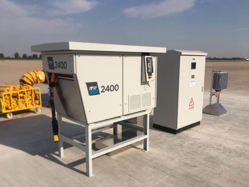 ITW GSE 2400 Power Coil, Shijiazhuang Zhengding Airport, China