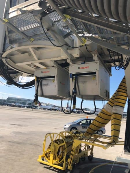 Vancouver International Airport, ITW GSE Power coils