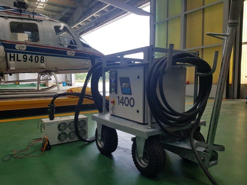 ITW GSE 1400, National 119 hangar, Incheon City, Korea