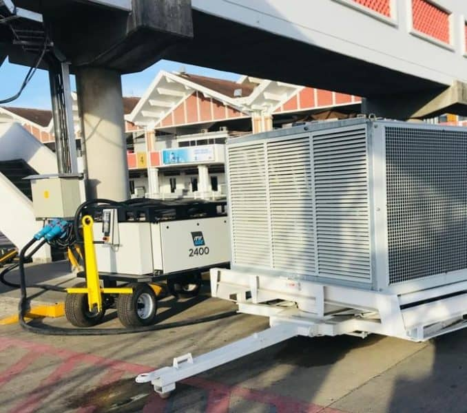 Mombasa, Kenya. ITW GSE 2400 180 kVA in Solar at gate project.