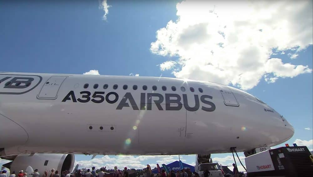 4400 Airbus A350 at Oshkosh Airshow US