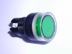 Green Push Button With Light
