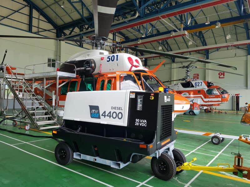 Forestry Aviation Hangar – Yangsan City, Korea