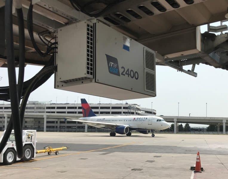 Delta Airlines, Detroit Metropolitan Airport DTW, USA