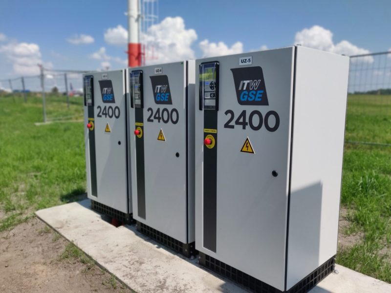 ITW GSE 2400 Compact – Vilnius Airport – Lithuania
