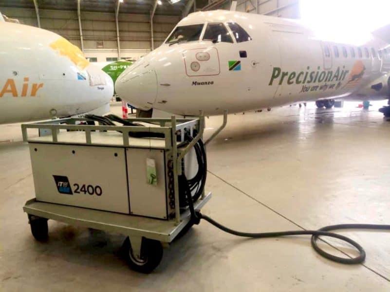 ITW GSE 2400 Compact Mobile – Precision Air Tanzania, Tanzania