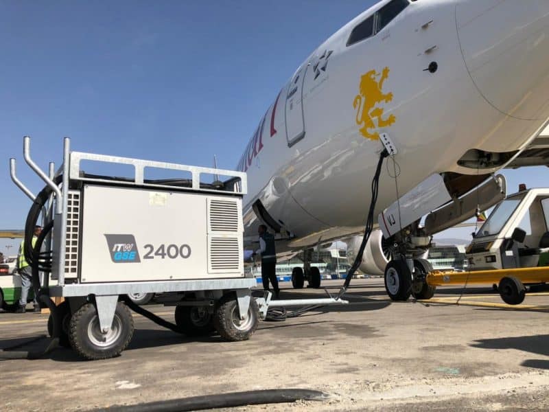 ITW GSE 2400, Bole Intl. Airport, Ethiopia