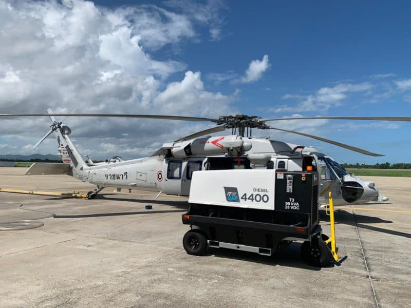 ITW GSE 4400 with RTN, Royal Thai Navy, Thailand