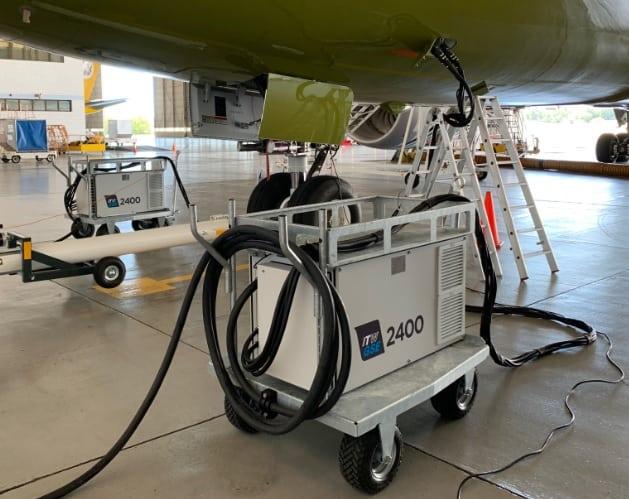 ITW GSE 2400, The Sultans Flight, Brunai B787