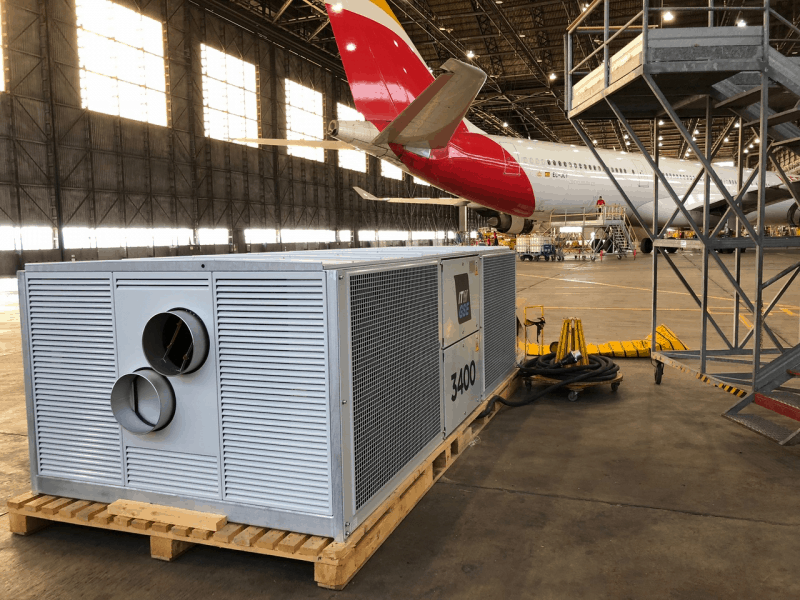 ITW GSE 3400,210 Iberia Hangar