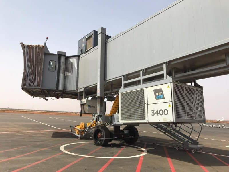 Diori Hamani International Airport in Niamey,Niger – ITW GSE 3400 PCA