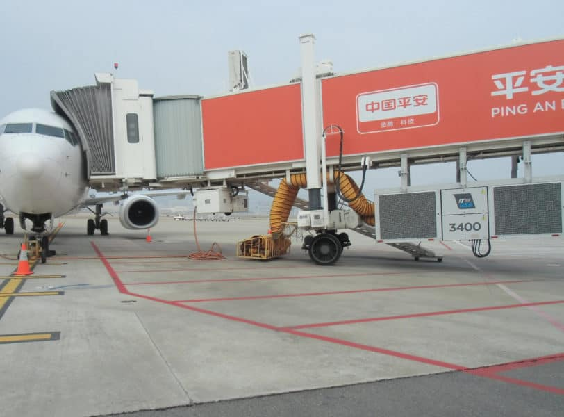 Shenzen Bao'an Intl. Airport, China – ITW GSE 3400 PCA