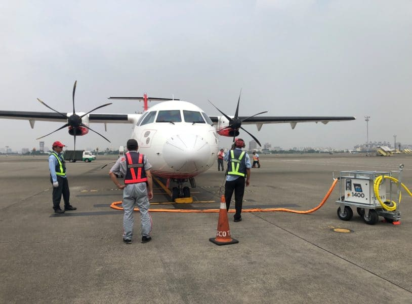 ITW GSE 1400, Kaohsiung Airport, Taiwan, Republic of China