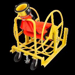 Flat Duct Reel Cart