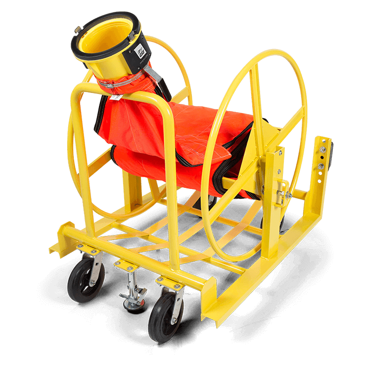 Flat Duct Reel Cart