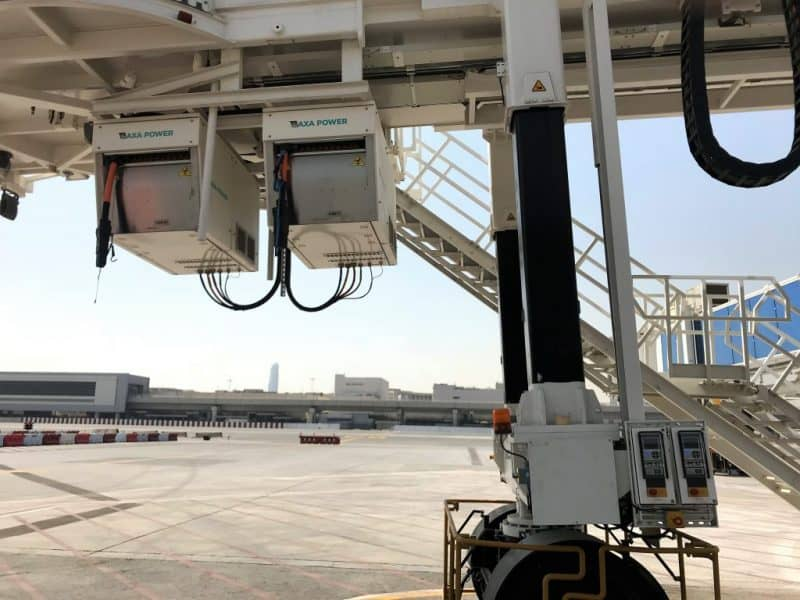 Two 2400 power Coils side by side, Dubai Concource C1
