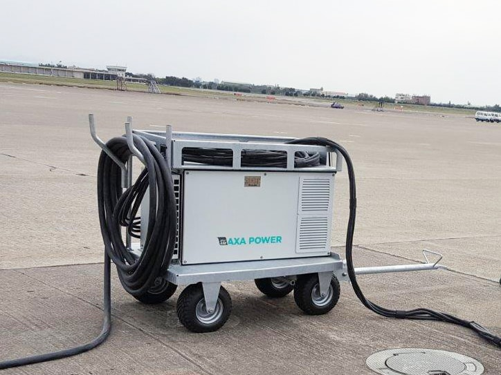 AXA 2400 in Taiwan Taoyuan Int'l Airport