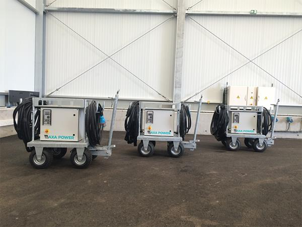 AXA 1400 Mobile Units at Evreux Military Air Base