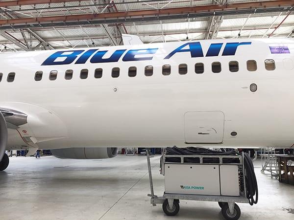 AXA 2400 GPU with ARU at Blue Air Romania