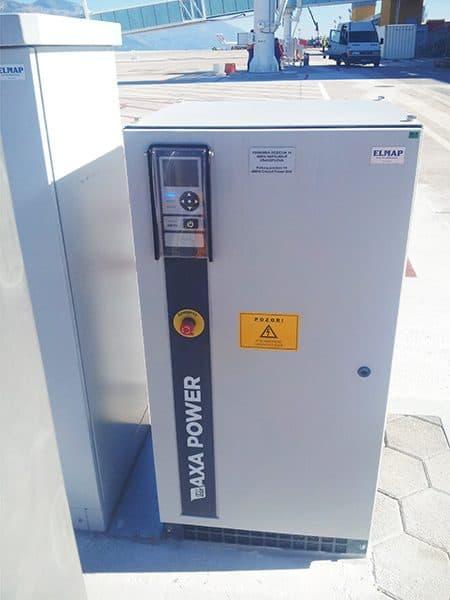 AXA 2400 GPU at Dubrovnik Airport, Croatia