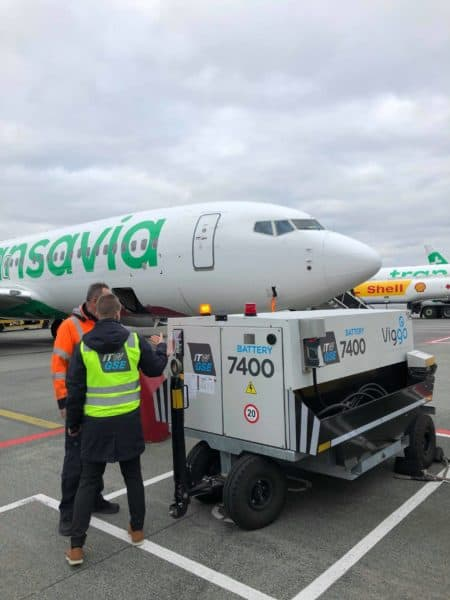 ITW GSE 7400 eGPU, Eindhoven Airport, The Netherlands