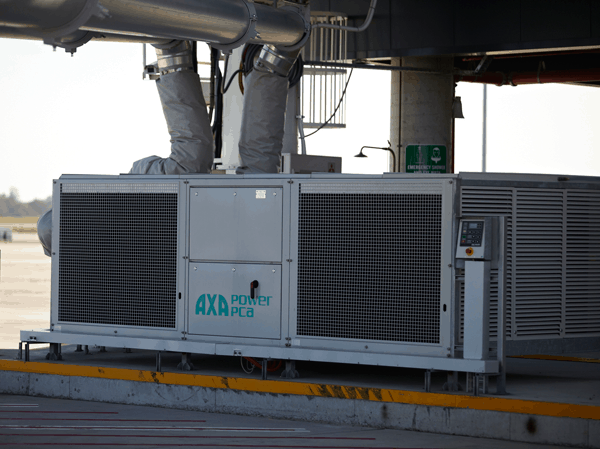 AXA Power PCA 210 at Melbourne Airport 2012