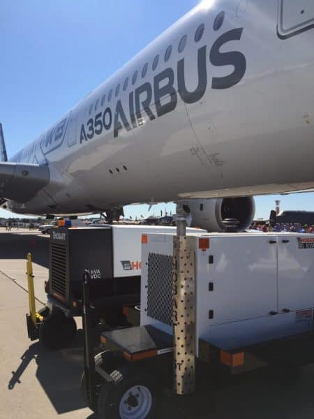 Hobart 4400 and 90CU420 with the Airbus 350