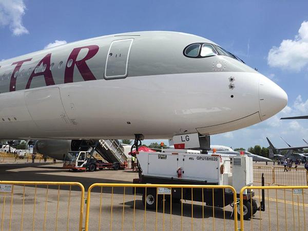 Hobart 180 kVA with Qatar Airways A350