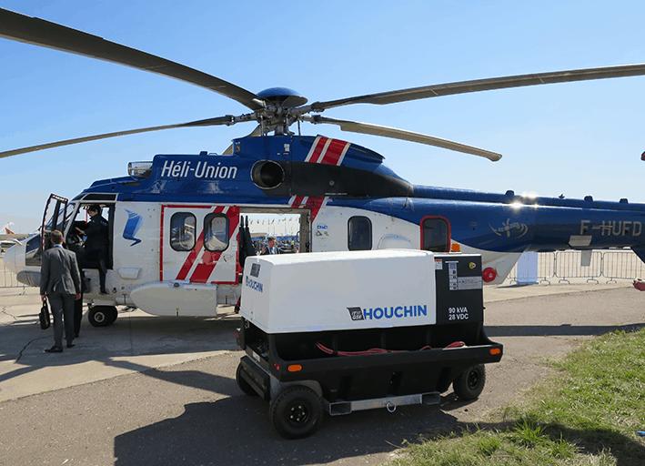 Houchin 4400 at MAKS Airshow