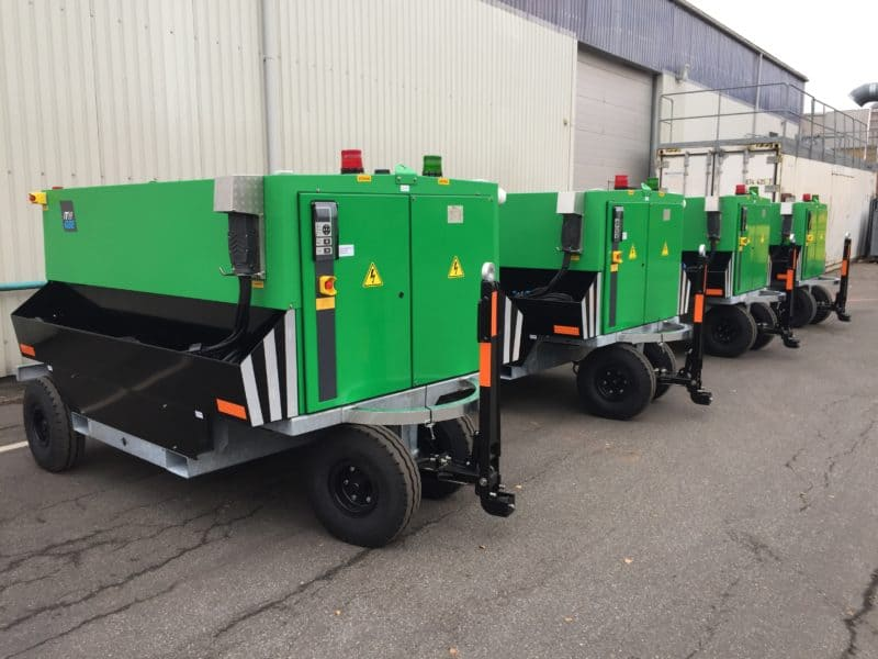ITW GSE 7400 – green for FRAPORT, Germany