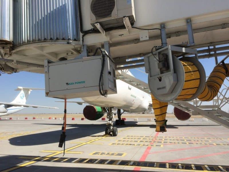 AXA 2300 Power Coil at Ashagabat Airport, Turkmenistan