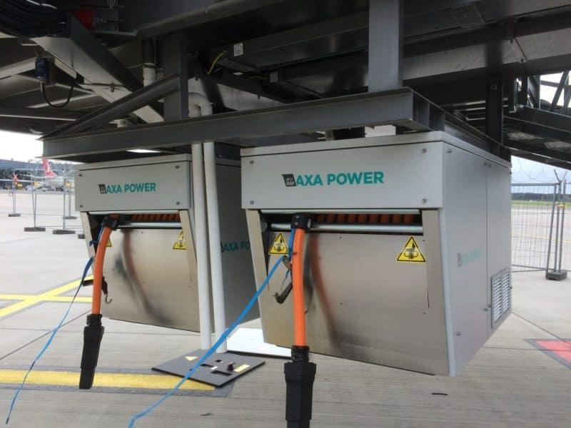 AXA 2400 Power Coils in Riga Airport Latvia